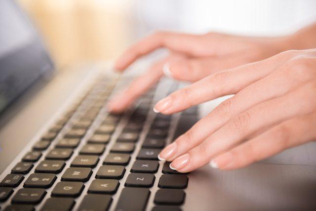 shutterstock women computer