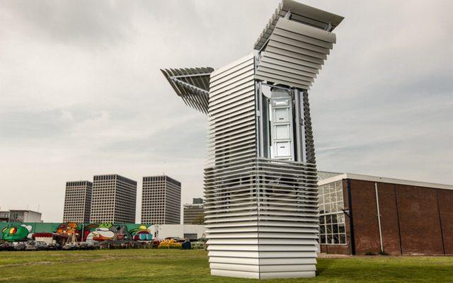 מקור: Smog Free Tower, Studio Roosegaarde