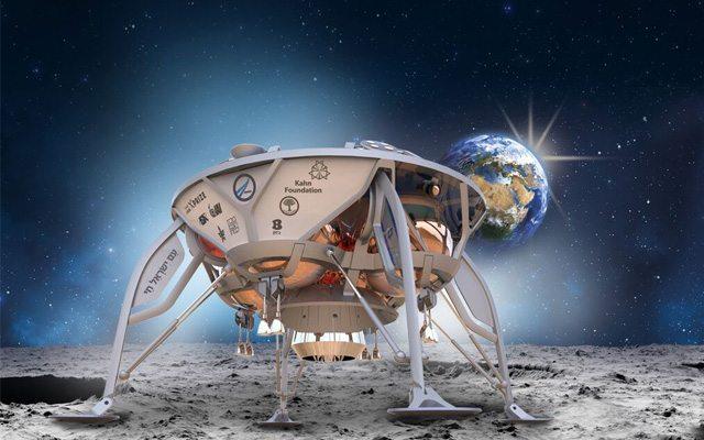 'דרור', רכב החלל הישראלי. מקור: SpaceIL