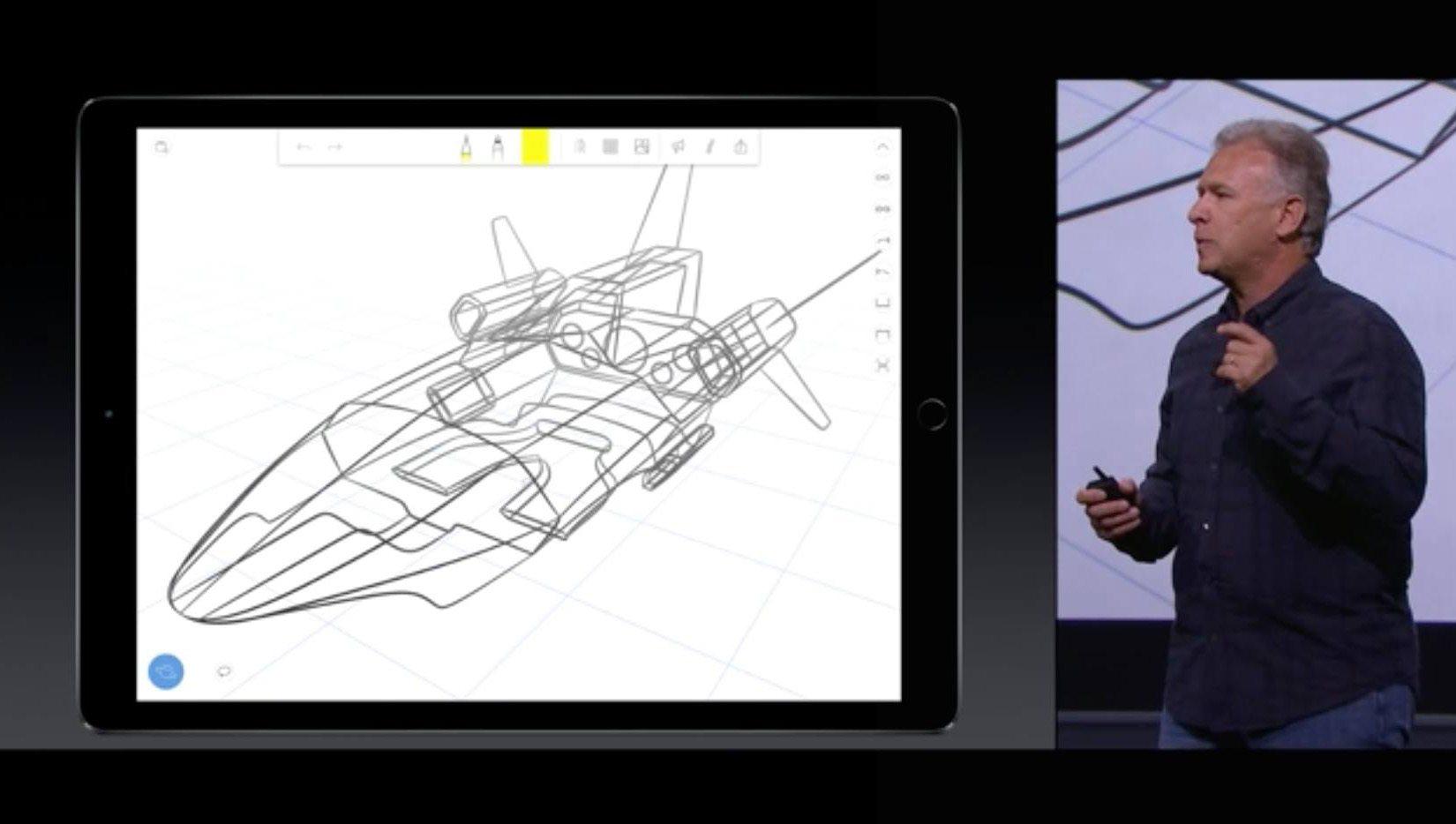 פיל שילר מאפל מציג את האפליקציה. מקור:Umake