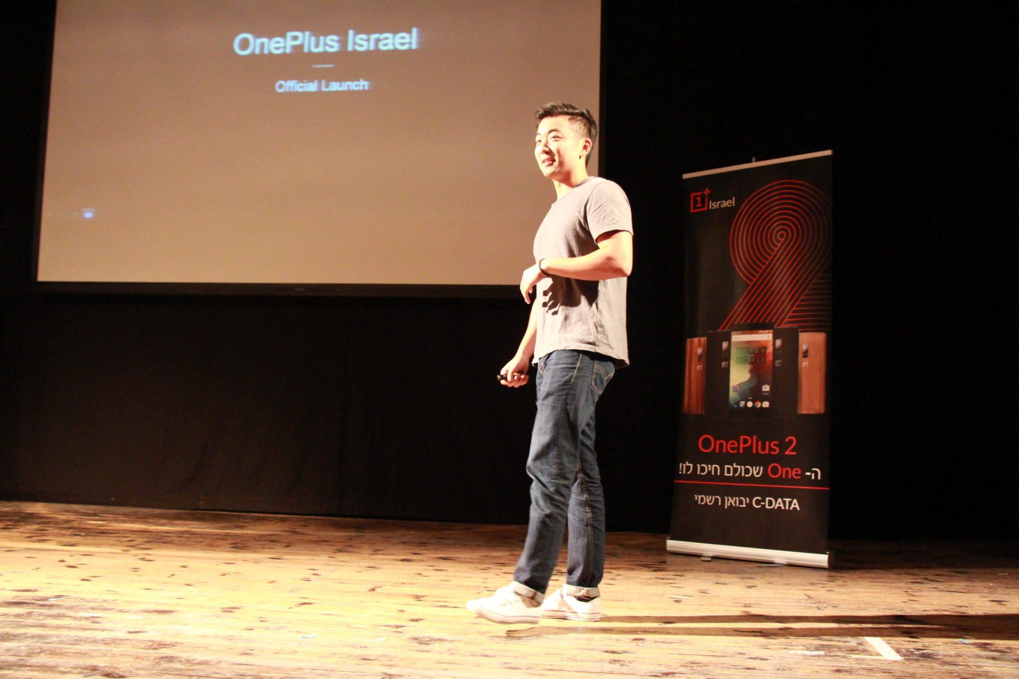 """מנכ""""ל OnePlus, קארל פאי. צילום: גיקטיים"""