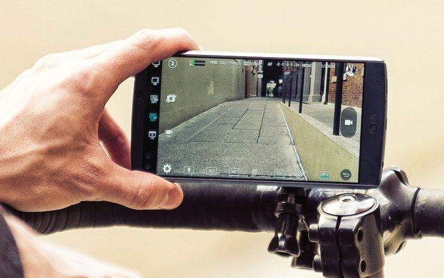 צילום וידאו במצב ידני. מקור: LG