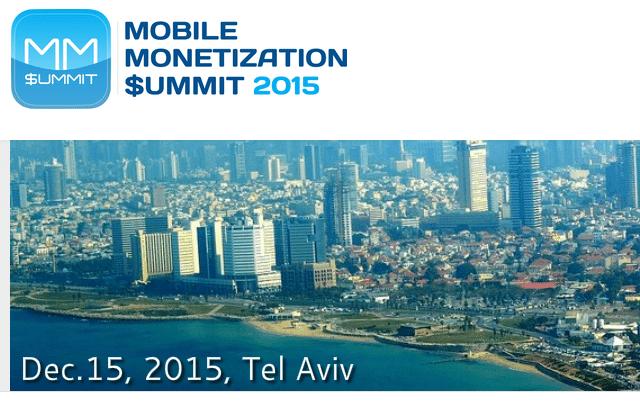 mobile monetization summit 2015