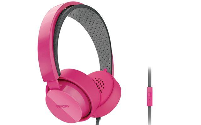 אוזניות מעוצבות עם דיבורית Philips SHL5205PK, 99 ש״ח במקום 399 ש״ח,