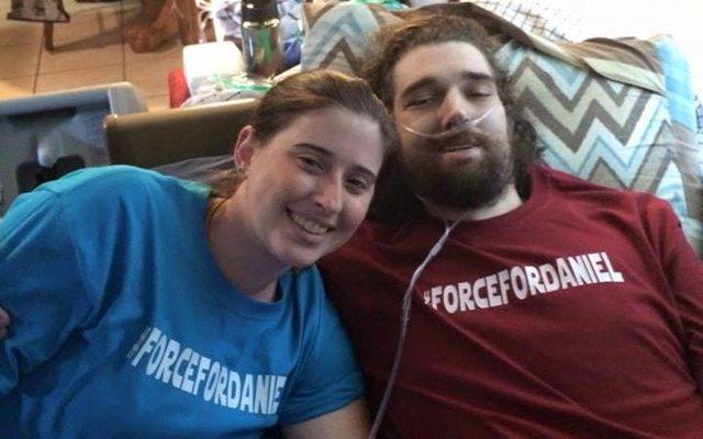 התמונה האחרונה של הזוג. מקור: עמוד הפייסבוק של אשלי פליטווד