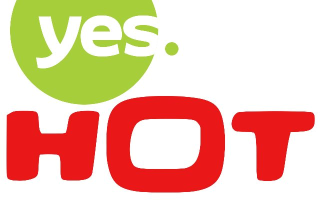 yes and hot logos