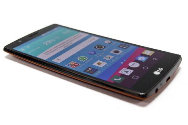מכשיר הדגל של LG לשנת 2015, ה-G4. צילום: גיקטיים