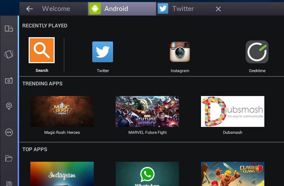 הכפתורים החדשים משמאל וממשק הטאבים מלמעלה. צילום מסך: גיקטיים