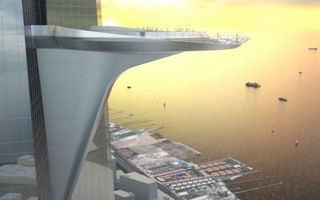 נוף לים. Jeddah Tower, Adrian Smith + Gordon Gill Architects
