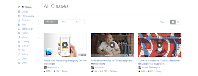 Skillshare_Classes