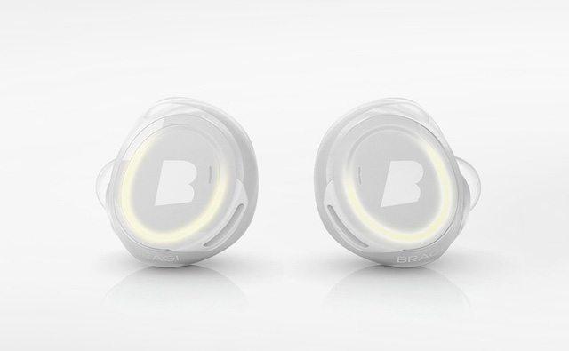 אוזניות The Dash של חברת Bragi. האוזניות של אפל צפויות להציג קונספט דומה מאוד