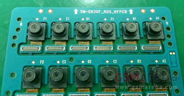 מודול המצלמה החדשה של ה-S7. מקור: gsmarena