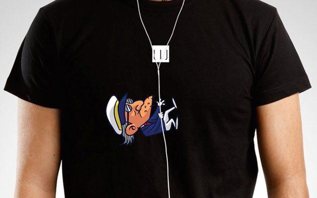 מקור: Wire T-shirt