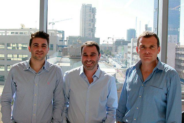 צפריר, גרימברג וגרינברג, מייסדי Team8. צילום: גיקטיים