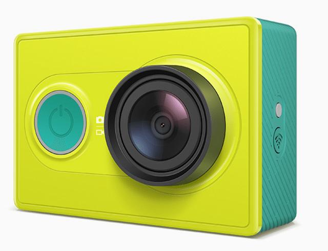 Yi Action Camera. המחיר: 399 ש״ח בלבד
