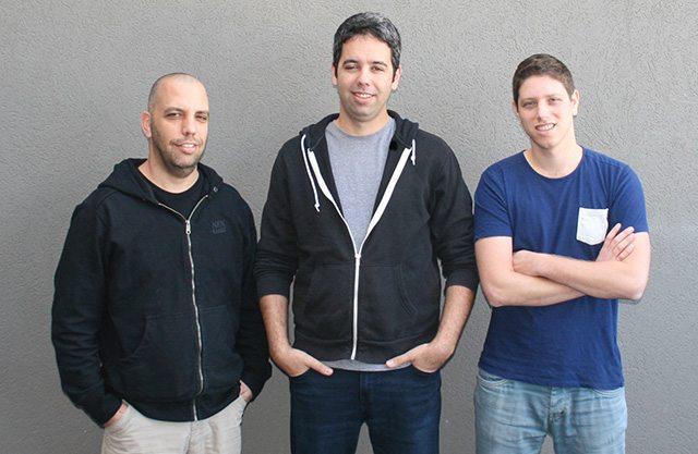 הצוות המיסד של Yodas. משמאל לימין: רן תבורי, ניר דרמר ואדם רוזנטל. צילום: Yodas