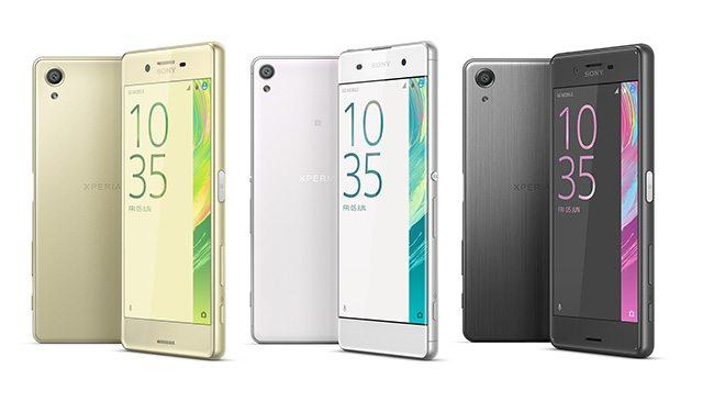סדרת ה-X החדשה. מקור: Sony Mobile