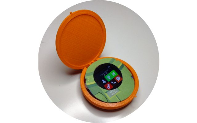 dTOOR's Cyrcle with SEEED's RePhone Kit inside מקור: dToor