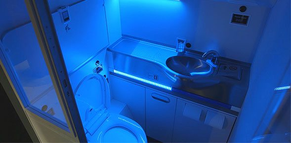 Boeing-Self-Cleaning-Lavatory