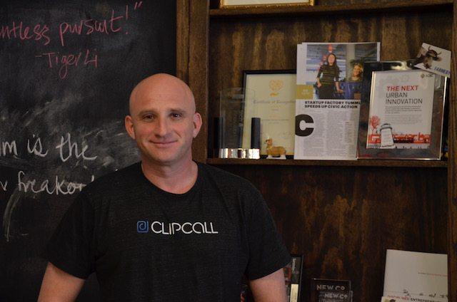 תמונה: דניאל שקד, מנכ״ל ומייסד ClipCall. צילום: גיקטיים