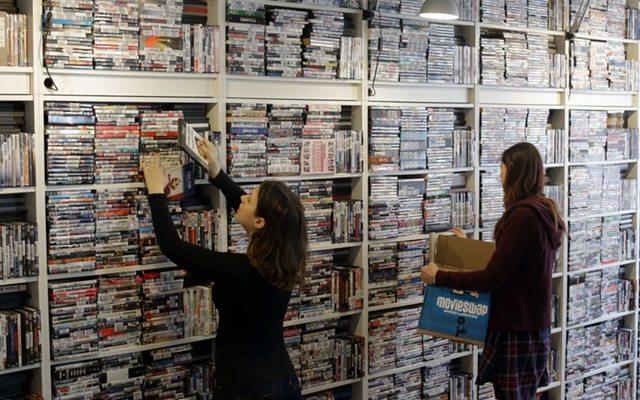 עד כה נאספו למעלה מ-200,000 DVD, מקור: MovieSwap