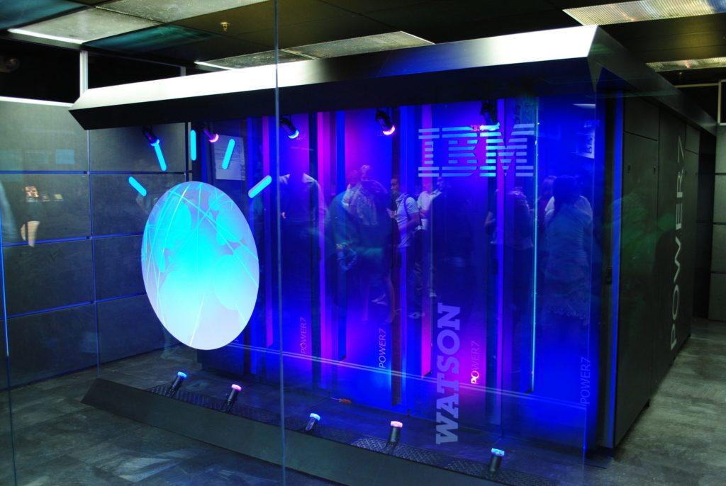 ווטסון. המחשב הקוגניטיבי של IBM. קרדיט תמונה: IBM