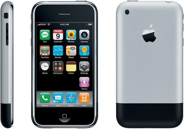 האייפון הראשון - פלא טכנולוגי של ממש בשנת 2007