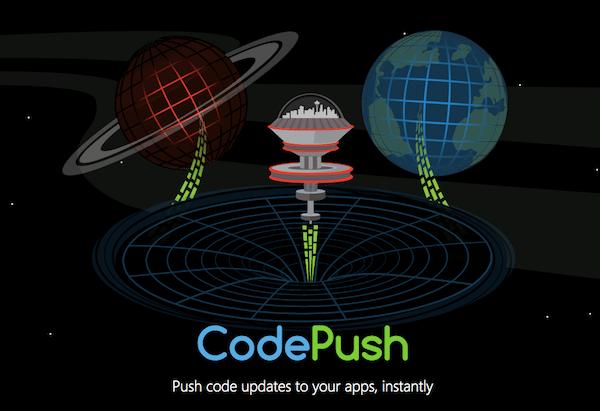 צילום מסך, אתר CodePush