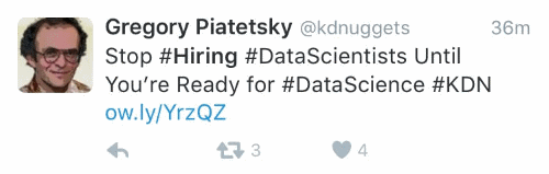 hiring data sciencists
