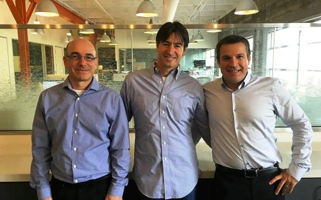 מימין לשמאל אלון חורי, גיא גולדשטיין ונסים טפירו, מקור: Next Insurance
