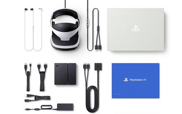 רכיבי הערכה. מקור: Sony