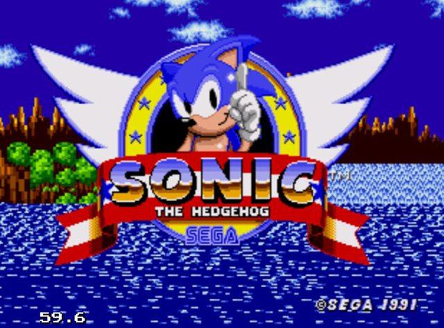 סוניק הקיפוד, אחד מהגיבורים של שנות ה-90. צילום מסך: גיקטיים