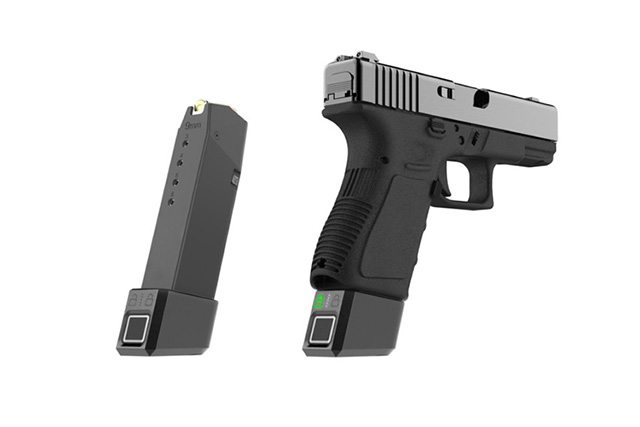 האקדח לא יפעל בלי טביעת אצבע: המחסנית החכמה של ClipFort. מקור: ClipFort