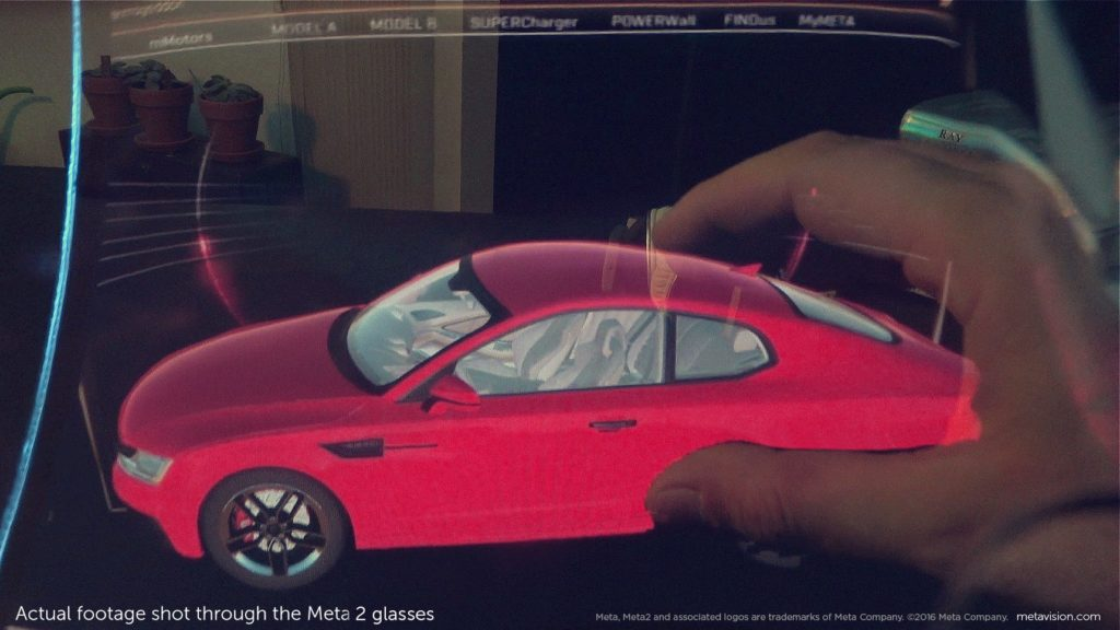 רוצים לקנות רכב? למה שלא תראו איך הוא נראה בגודל אמיתי. מבפנים. צילום: Meta