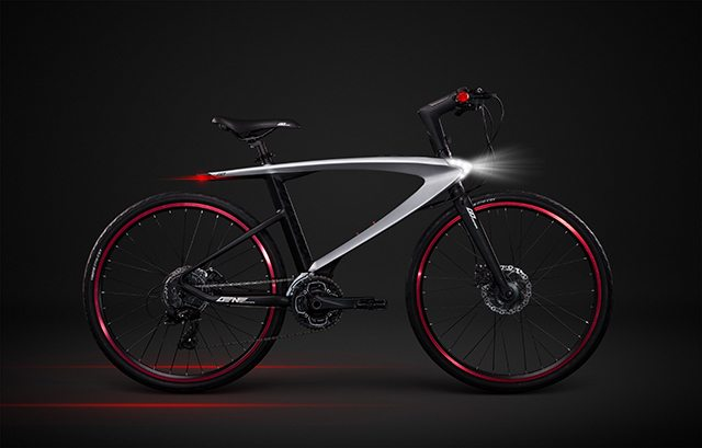 האופניים החכמים של LeEco. מקור: LeEco