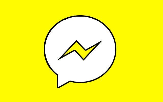 המסנג'ר של פייסבוק רוצה להיות סנאפצ'ט. עיבוד תמונה: גיקטיים
