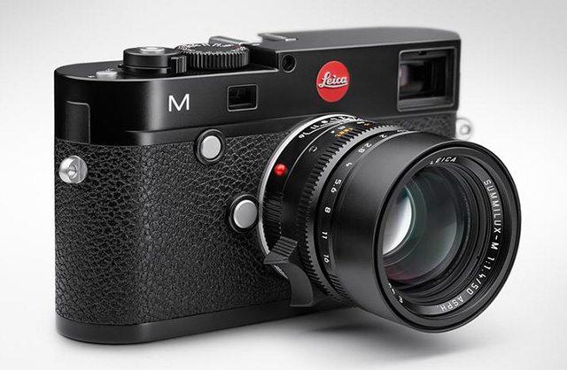 מצלמת ה-M של Leica. תג מחיר ממוצע של 5,000 דולר. מקור: Leica