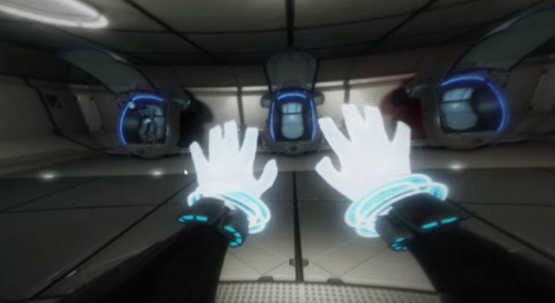 הרגע שבו הגוף שלכם הופך לדיגיטלי. מתוך המשחק עצמו. CyberQuest