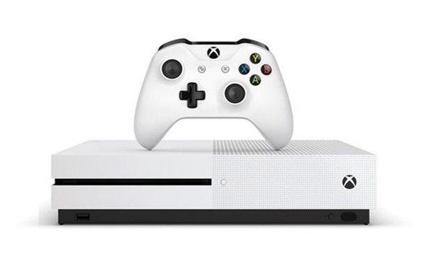 קונסולת ה-Xbox One S החדש - יש גם בלבן. מקור: neogaf