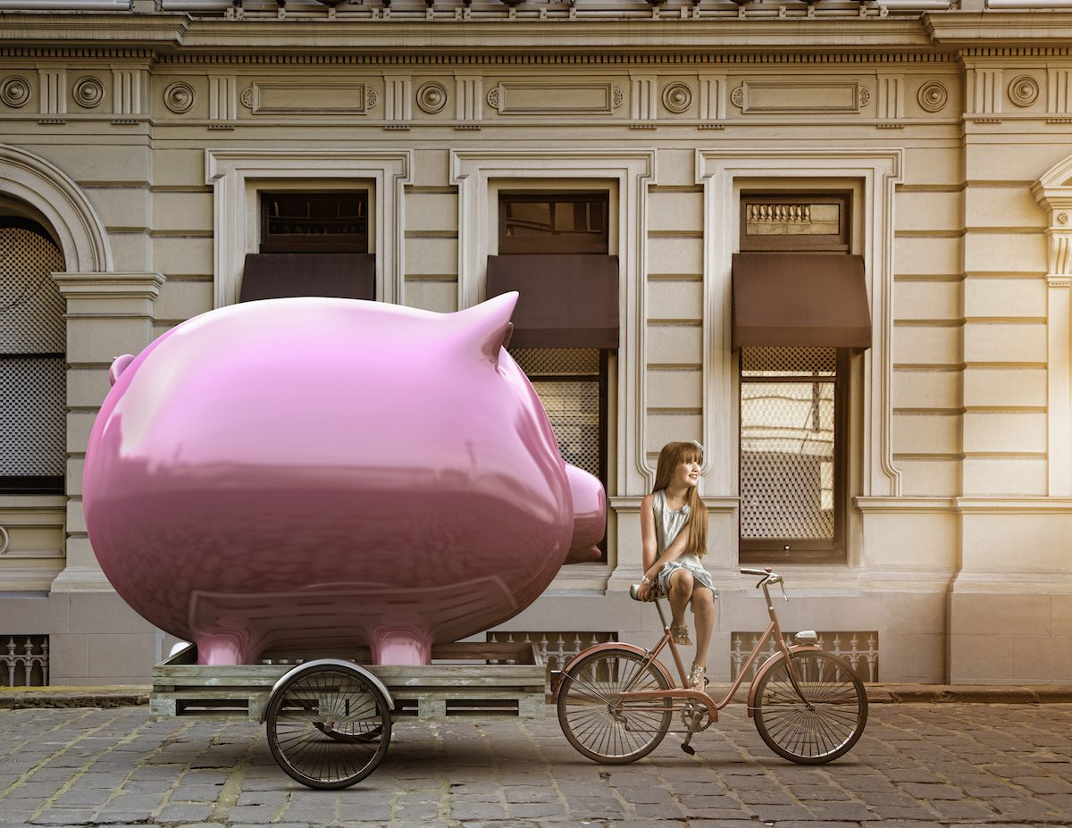 piggy bank getty images