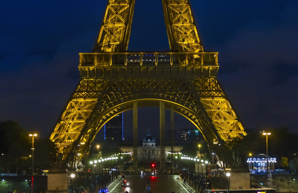 Eiffel Tower paris getty images