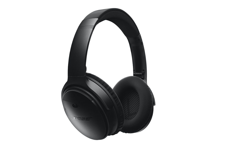 Bose QuietComfort 35, אוזניות אלחוטיות עם ביטול רעשים מובנה