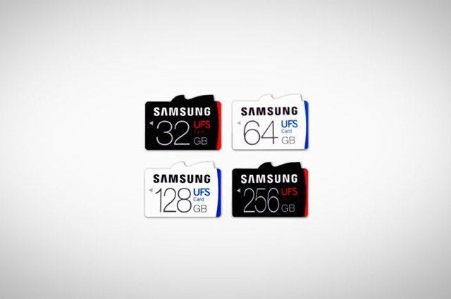 בשלב הראשון, 4 נפחים שונים. מקור: Samsung