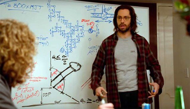 שיטת ה-Middle Out - לא כזו דמיונית. צילום מסך מתוך HBO