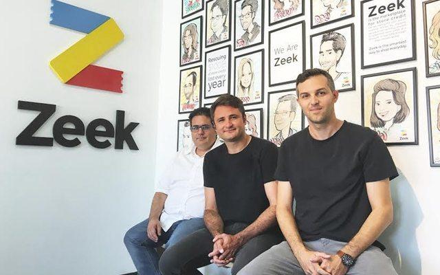 צוות המייסדים מימין לשמאל: איתי אראל, דניאל זלקינד וזיו ישעיהו