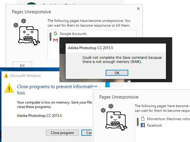 הודעות שגיאה, הודעות שגיאה בכל מקום. צילום מסך: גיקטיים