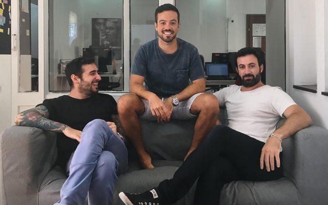 שלושה מהמייסדים: מימין לשמאל - עידו רז, עמית אטיאס וגיא טיטונוביץ