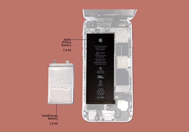 חצי מהגודל והמשקל של סוללה כיום. מקור: SolidEnergy