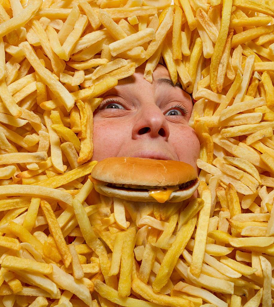 Drowning in junk food