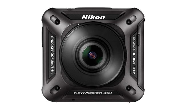 מצלמת ה-KeyMission 360 החדשה של ניקון. מקור: Nikon
